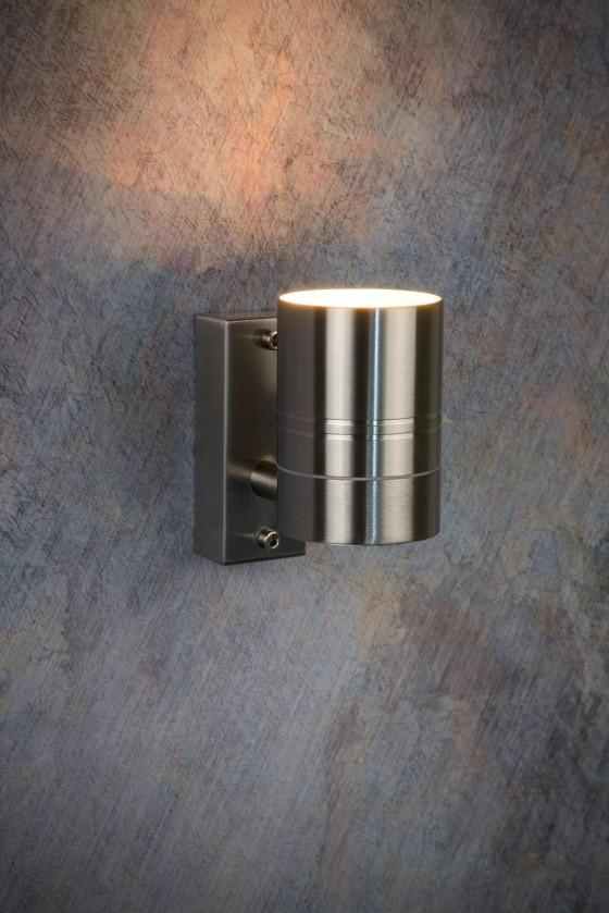 Nábytek Arne - venkovní osvětlení, 35W, 1xGU10, 11 cm (stříbrná)