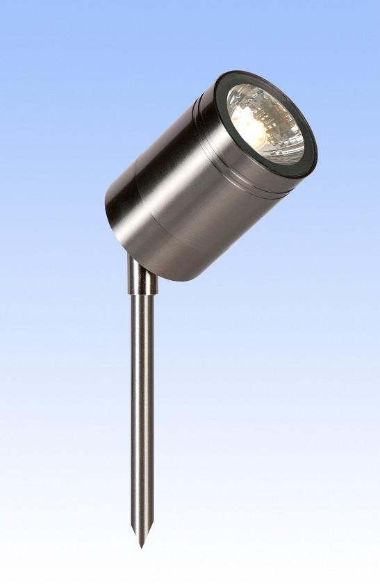 Nábytek Arne - venkovní osvětlení, 35W, 1xGU10, 36 cm (stříbrná)