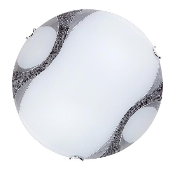 Nábytek Art - Nástěnná svítidla, E27 (bílá/chrom)