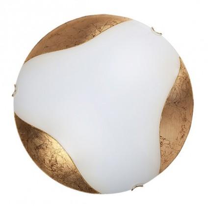 Nábytek Art - Nástěnná svítidla, E27 (bílá/zlatá)
