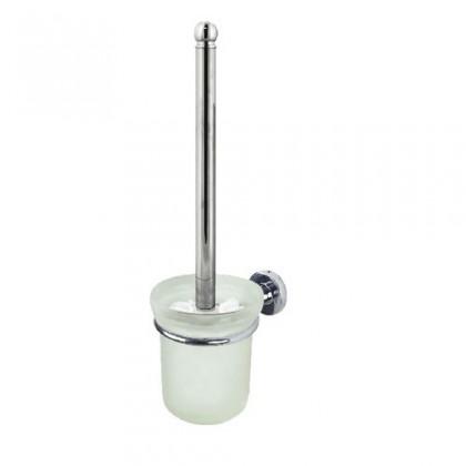 Nábytek Atlantic-WC štětka s držákem(sklo/chrom)