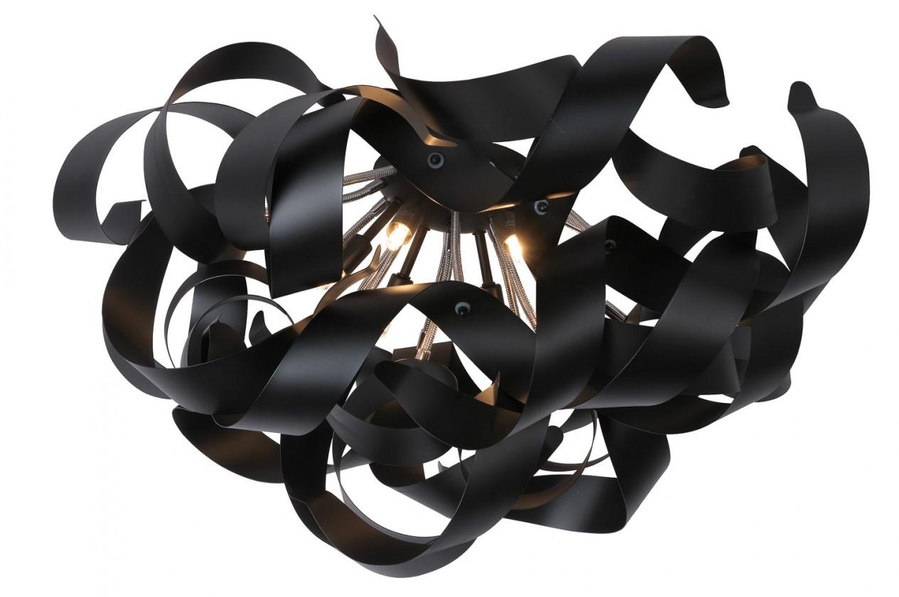 Nábytek Atoma - stropní osvětlení, 33W, 6xG9 (černá)