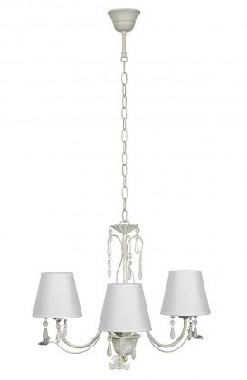 Nábytek Bari - stropní osvětlení, 9W, E14 (bílá)