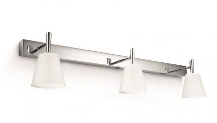 Nábytek Bath - Koupelnové osvětlení G9, 65cm (lesklý chrom)