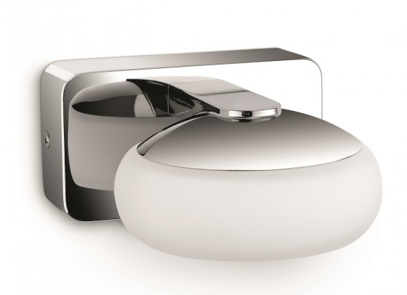 Nábytek Bath - Koupelnové osvětlení LED, 12cm (lesklý chrom)