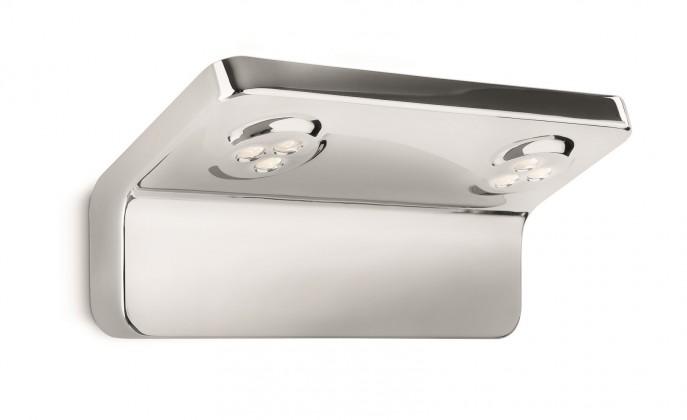 Nábytek Bath - Koupelnové osvětlení LED, 22,4cm (lesklý chrom)