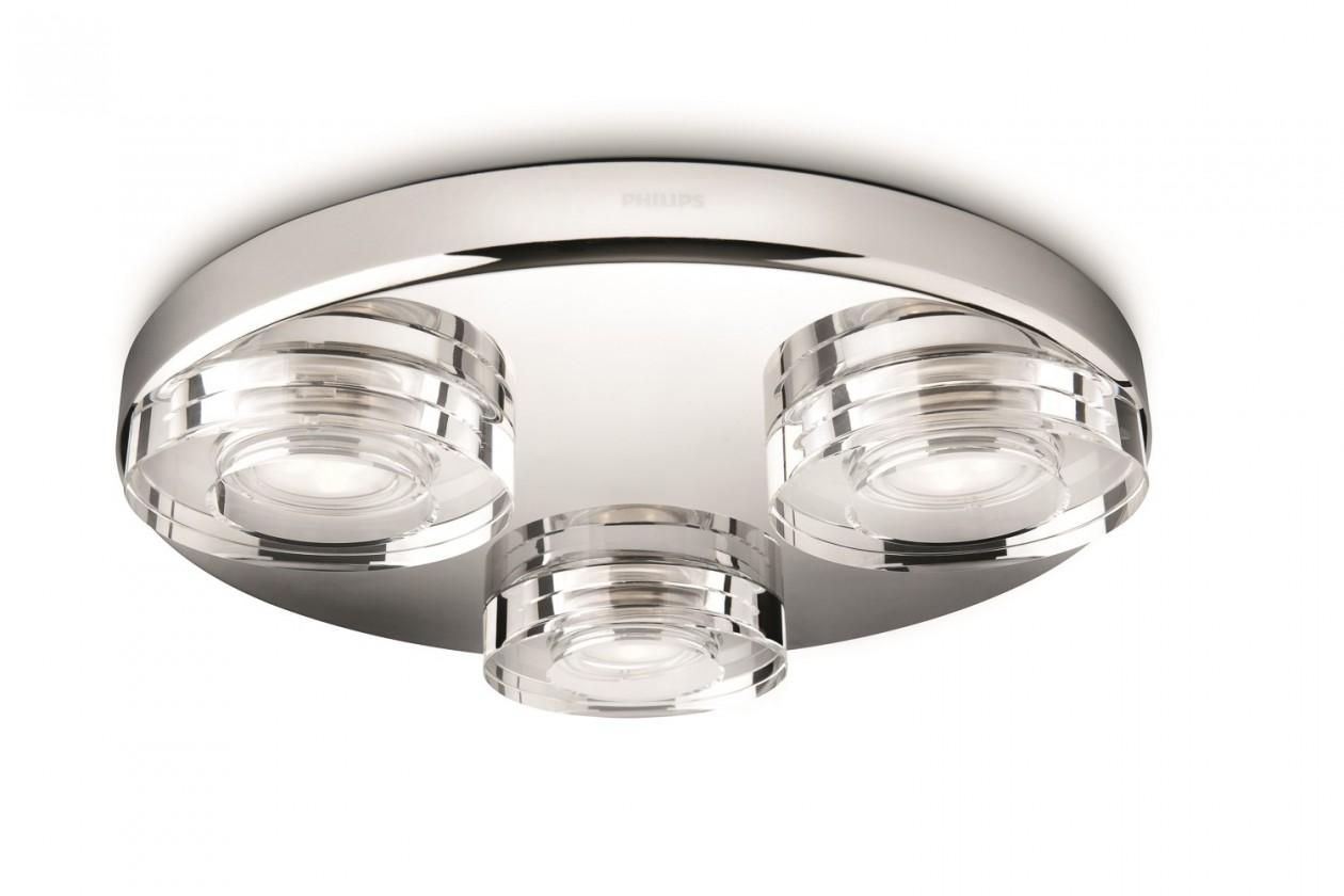 Nábytek Bath - Koupelnové osvětlení LED, 32cm (lesklý chrom)