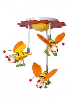 Nábytek Bee - stropní osvětlení, 9W, 3xE14 (multicolor)