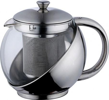 Nábytek Bergner - konvice na čaj 1,1L (stříbrná)