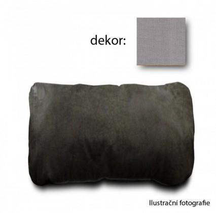 Nábytek Bermuda Područkový polštář (enoa fashion-silver)