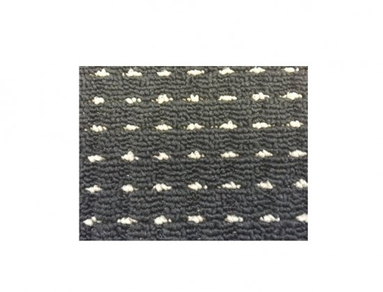 Nábytek Birmingham - koberec, 150x80cm (100%PP, černá)