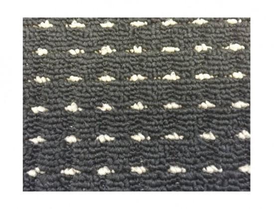 NÁBYTEK Birmingham - koberec, 200x140cm (100%PP, černá)