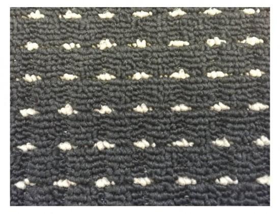 NÁBYTEK Birmingham - koberec, 240x160cm (100%PP, černá)