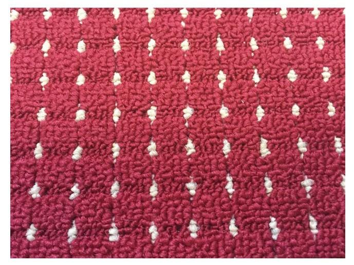 NÁBYTEK Birmingham - koberec, 240x160cm (100%PP, červená)