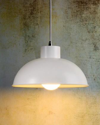 Nábytek Boris - stropní osvětlení, 18W, E27 (bílá)