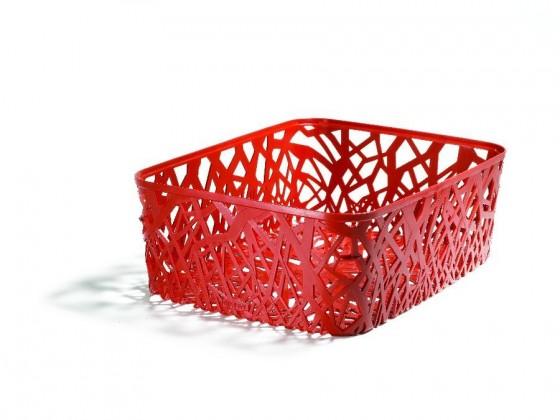 Nábytek Box úložný (plast, červená)
