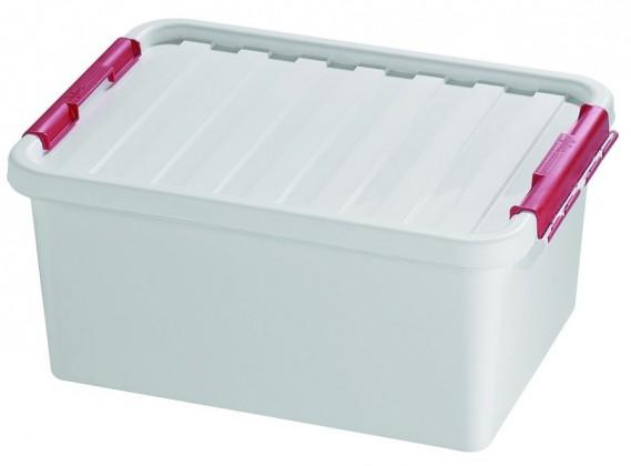 Nábytek Box úložný s víkem (plast, 14l)