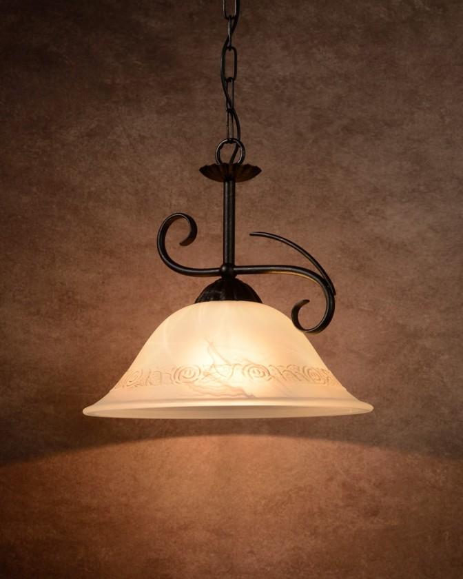 Nábytek Calabre - stropní osvětlení, 24W, 1xE27 (bronzová)