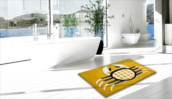 Nábytek Cancer - Koupelnová předložka 60x90 cm (teplá žlutá)
