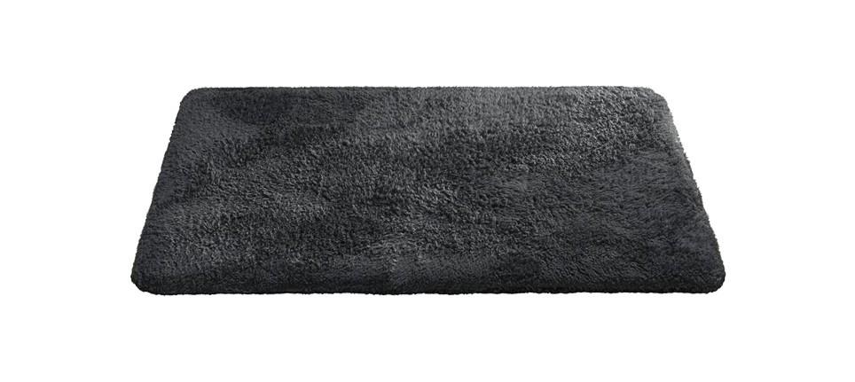 Nábytek Caresse - koupelnová předložka, 43x60 cm (antracit)