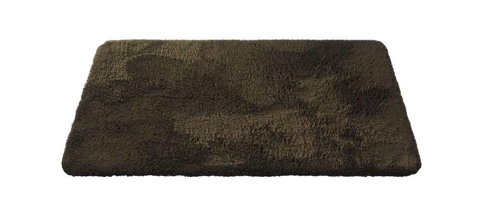 Nábytek Caresse - koupelnová předložka, 43x60 cm (hnědá)