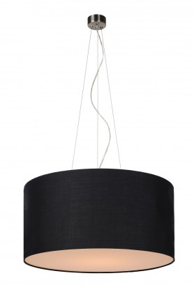 Nábytek Coral - stropní osvětlení, 60W, E27 (černá)
