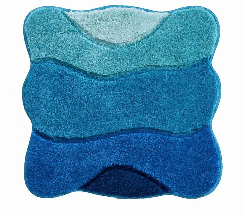 Nábytek Curts - Koupelnová předložka malá 60x60 cm (modrá)