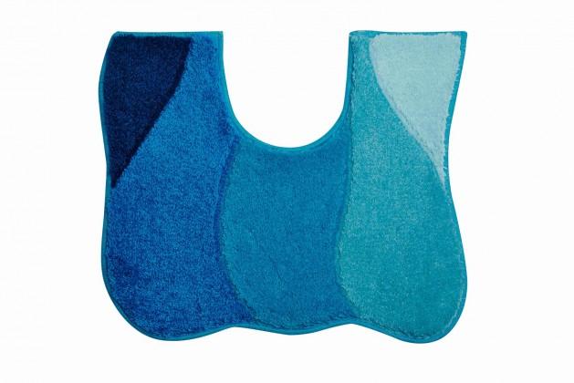 Nábytek Curts - WC předložka 50x60 cm (modrá)