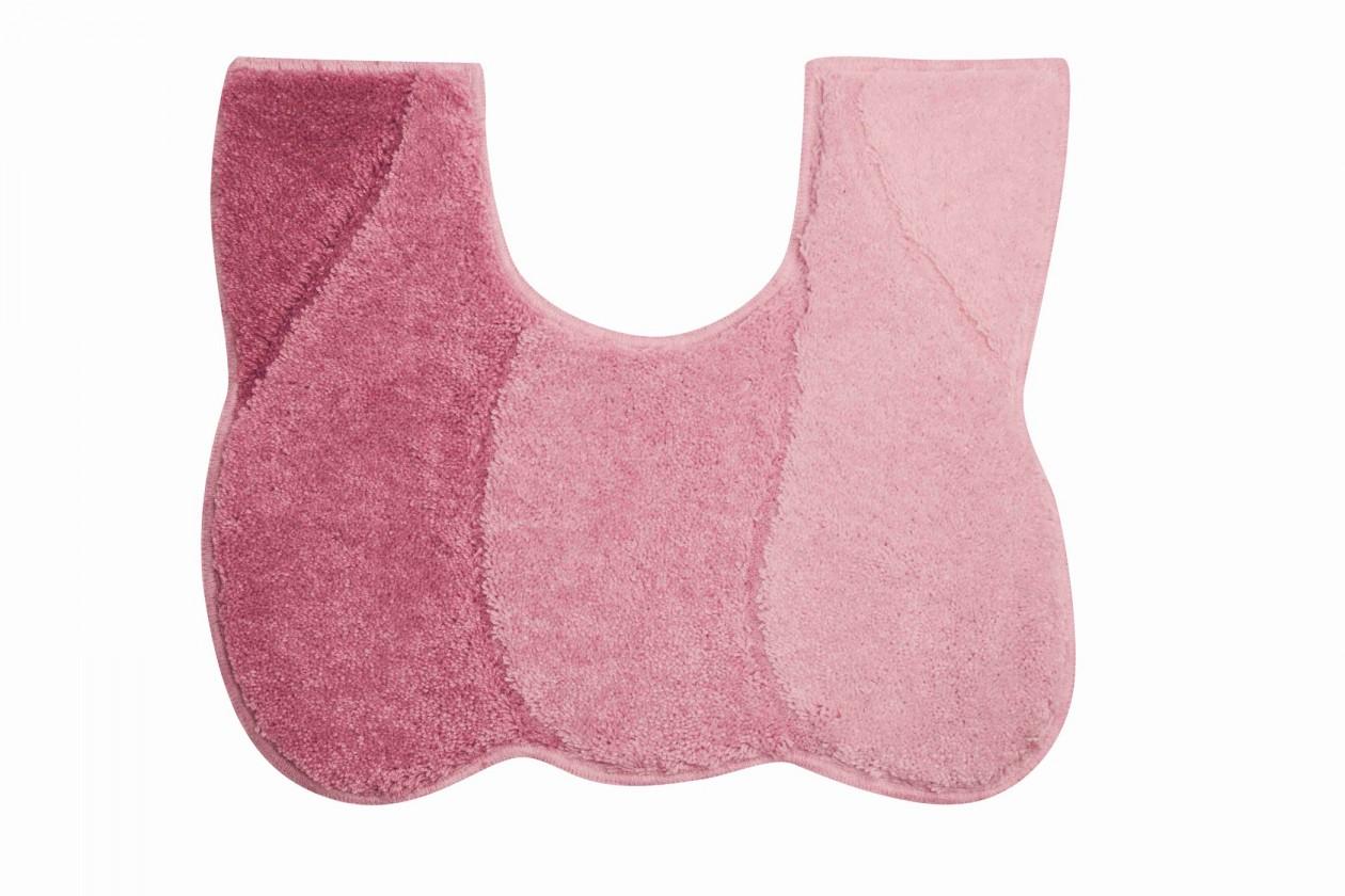 Nábytek Curts - WC předložka 50x60 cm (růžová)