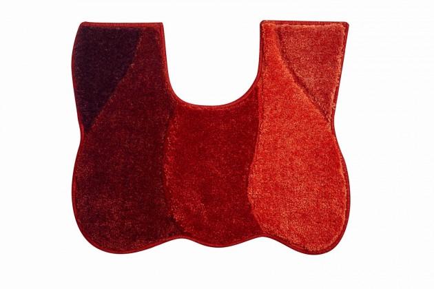 Nábytek Curts - WC předložka 50x60 cm (teplá červená)