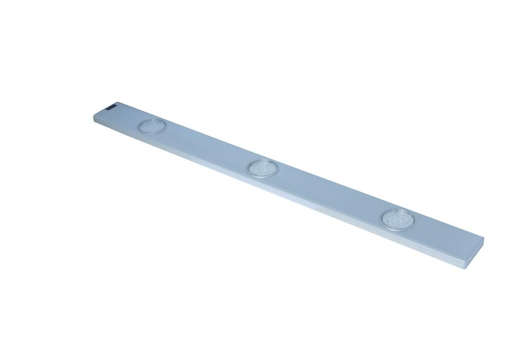 Nábytek Daeron - Kuchyňské LED svítidlo, 3x24LED (stříbrná)