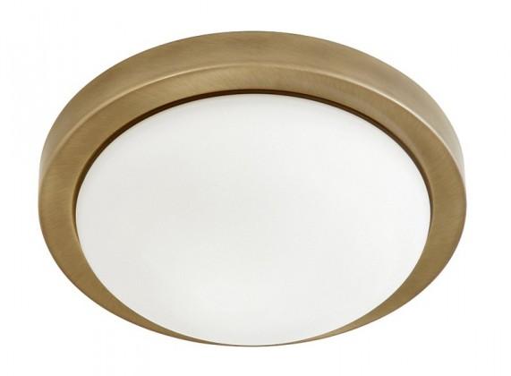 Nábytek Disky - Nástěnná svítidla, E27 (bronzová/bílá)