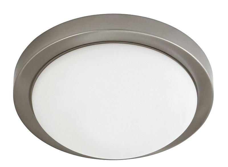 Nábytek Disky - Nástěnná svítidla, E27 (saténový chrom/bílá)