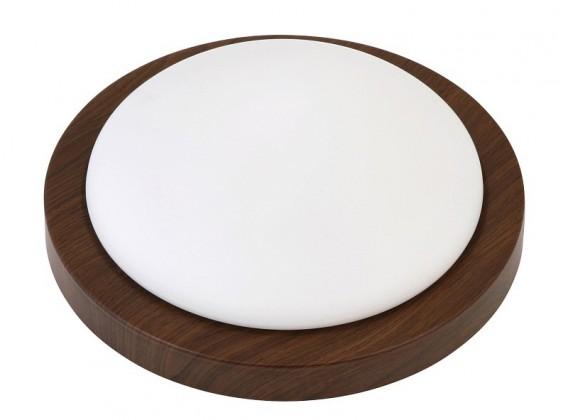 Nábytek Disky - Nástěnná svítidla, E27 (wenge/bílá)