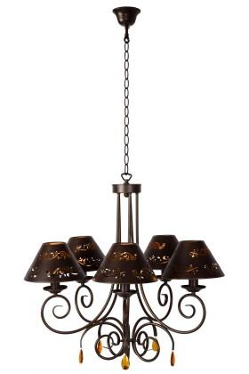 Nábytek Dorint - stropní osvětlení, 9W, E14  (bronzová)