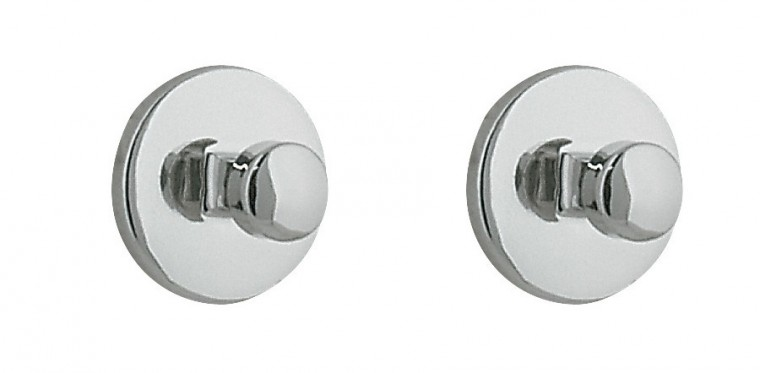 Nábytek Dot-Háček chrom, 2 ks(stříbrná)
