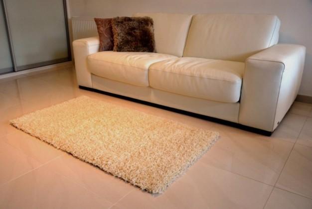 Nábytek Dream Shaggy - koberec, 170x120cm (100%PP shaggy, béžová)