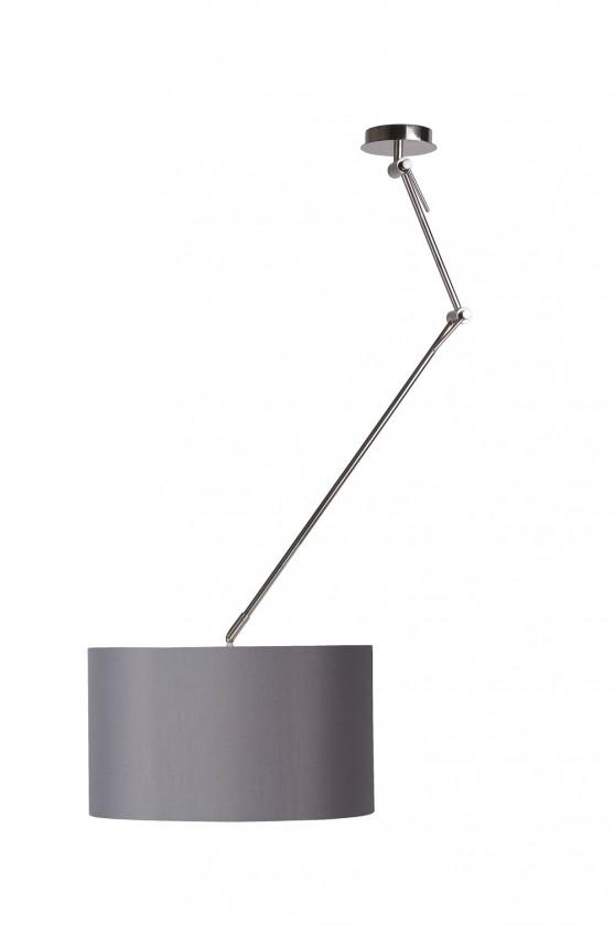 Nábytek Eleni - stropní osvětlení, 60W, E27 (šedá)