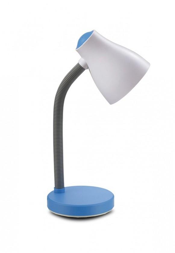 Nábytek Elis - Lampa stolní žárovková (béžová/modrá)