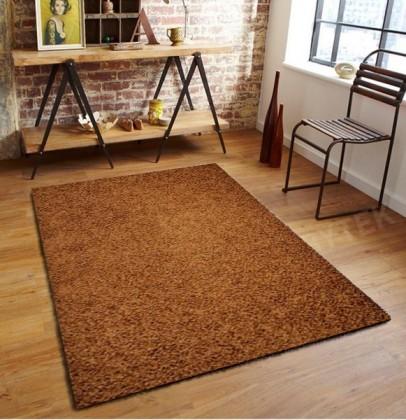 Nábytek Elite Shaggy - koberec, 110x60cm (100%PP shaggy, hnědá)