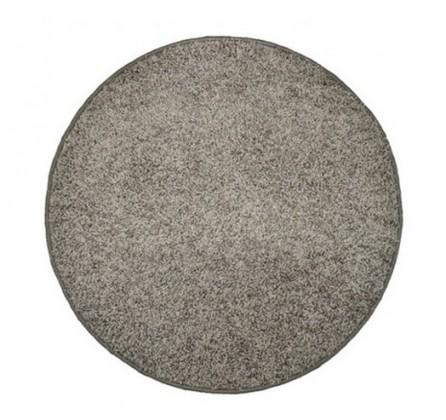 Nábytek Elite Shaggy - koberec, 160x160 (100%PP shaggy, kulatý, šedá)