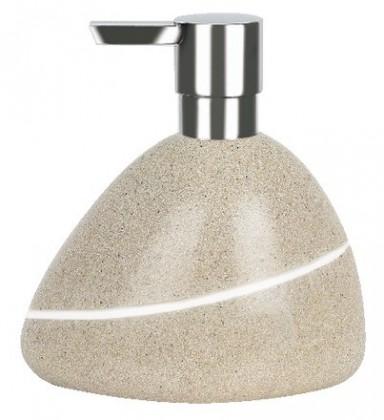 Nábytek Etna-Dávkovač mýdla Sand(písková)