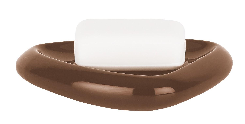 Nábytek Etna-Mýdlenka SHINY brown(hnědá)