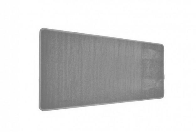 Nábytek Eton - koberec, 150x80cm (100%PP, šedá)