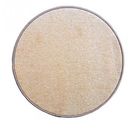 Nábytek Eton - koberec, 160x160cm (100%PP, kulatý, béžová)