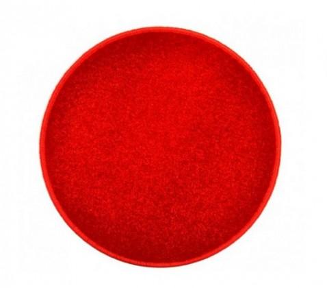 Nábytek Eton - koberec, 160x160cm (100%PP, kulatý, červená)