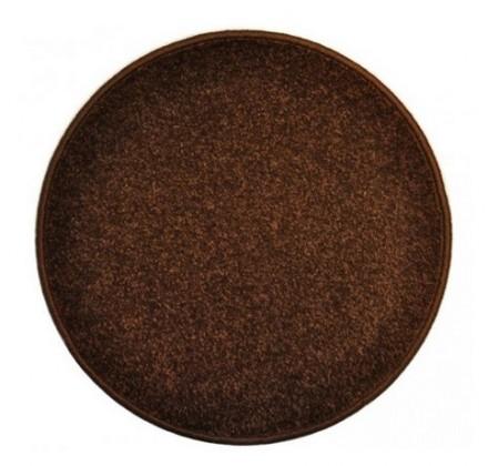 Nábytek Eton - koberec, 160x160cm (100%PP, kulatý, hnědá)