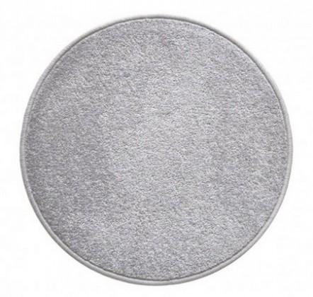 Nábytek Eton - koberec, 160x160cm (100%PP, kulatý, šedá)