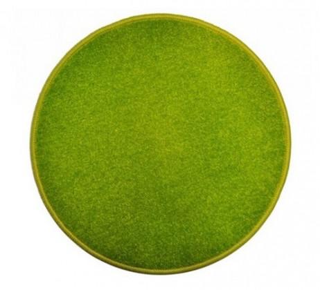 Nábytek Eton - koberec, 160x160cm (100%PP, kulatý, zelená)