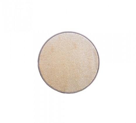 Nábytek Eton - koberec, 57x57cm (100%PP, kulatý, béžová)